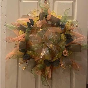 Boho deco wreath